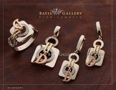 """좋아요 1,171개, 댓글 21개 - Instagram의 جواهرى باتیس(@batisgallery)님: """"Luxe Brilliant Set Earring - Pendant & Ring Gold & Rose Gold Price ~ 4/900 million Code : N 396…"""""""