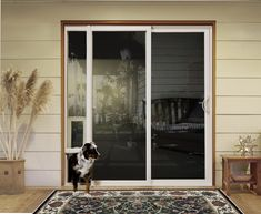 Jeld Wen Patio Door Available With Integrated Pet Panel