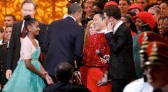 Gangnam Style : Psy serre la main d'Obama à Washington