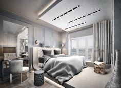 Современное в традиционном - Лучший дизайн спальни | PINWIN - конкурсы для архитекторов, дизайнеров, декораторов