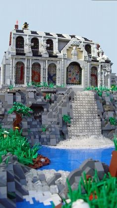 Saint Rafael's Monastery: A LEGO® creation by Glory Forever : MOCpages.com