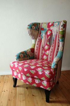Ohrensessel gebraucht  Sessel, Ohrensessel, Original Kare Design, Patchwork - gebraucht ...