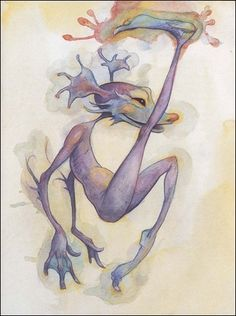 Brian Froud : a fairy in a book accident