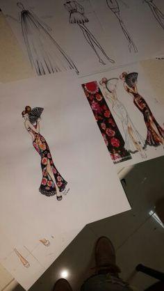 Fashion skecth suluboya stilist