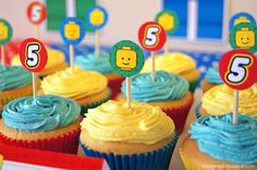 Lego-Inspired 5th Birthday Party