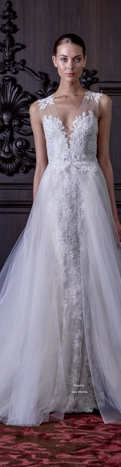 Monique Lhuillier Bridal Spring 2016