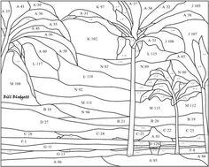 "Chinaman's Hat, Oahu, Hawaii, pattern. Pattern is 15""w x 12""h"