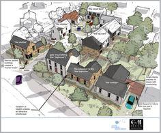 2017 design proposals for Lismore Park, Sion Mills.