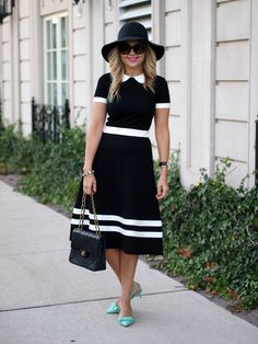 Suburban Faux-Pas: Collared Dress