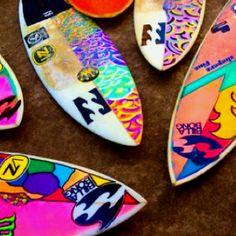 Bright boards.