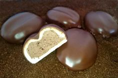 Czech Desserts, Sweet Desserts, Sweet Recipes, Christmas Sweets, Christmas Baking, Ice Cream Candy, Czech Recipes, Xmas Cookies, Polish Recipes
