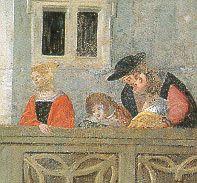Sommer:September - Gaffende auf dem Balkon (agape on the balcony)