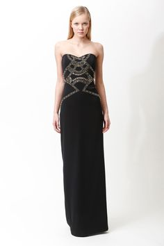 Badgley Mischka Pre-Fall 2013 Collection Slideshow on Style.com