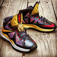 competitive price b66c1 8e02d The Nike LeBron X
