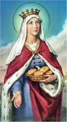 Elizabeth of Hungary - Saints & Angels - Catholic Online Catholic Online, Catholic News, Catholic Saints, Patron Saints, Bratislava, Saint Elizabeth Of Hungary, Saint Costume, Saint Feast Days, St Clare's