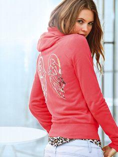 Supermodel Essentials NEW! Graphic Fleece Hoodie #VictoriasSecret http://www.victoriassecret.com/clothing/new-for-spring/graphic-fleece-hoodie-supermodel-essentials?ProductID=104396=OLS?cm_mmc=pinterest-_-product-_-x-_-x