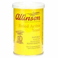 Dried Active Yeast - Allinson - 125g