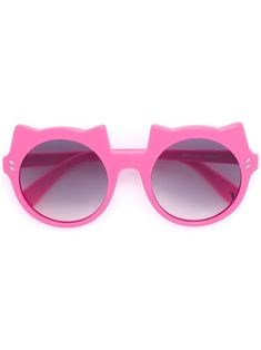 99059be23e230d Shop Stella Mccartney Kids Cat Accent Sunglasses for Update Your Designer  Wardrobe Today.