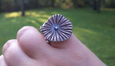bronze and silver lichen ring | Flickr - Photo Sharing!