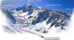vallee blanche guide valley chamonix ski guide