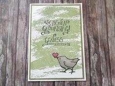 Ein Blog übers Stempeln mit Stampin up - Geburtstagskarte, Watercolor Wash, Doppelt gemoppelt,