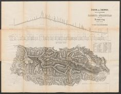 Situation und Längenprofil der k.k. Staatseisenbahn von Gloggnitz bis Mürzzuschlag über den Semmering; Rar K 291 Old Maps, Women, Profile, Women's, Woman, Old Cards