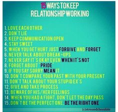 relationships dating advice for teens work: