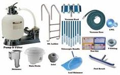 One of the swimming pool cleaning equipment that every swimming pool need is the pump and the filter, also the skimmer Portable Swimming Pools, Swimming Pool Equipment, Swimming Pool Water, Swimming Pool Designs, Pool Pumps And Filters, Pool Filters, Skimmer Pool, Pool Safety Covers, Swimming Pool Accessories