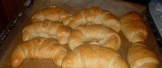 Recept Máslové croissanty FOTOPOSTUP 20 Min, Bagel, Pizza, Bread, Food, Brot, Essen, Baking, Meals