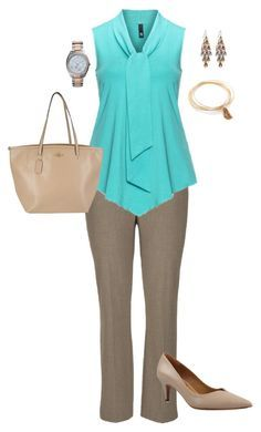 """""""Plus Size Work Outfit"""" by jmc6115 on Polyvore More"""