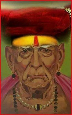 Saints Of India, Swami Samarth, Vastu Shastra, Swami Vivekananda, Om Sai Ram, God Pictures, Sai Baba, Gouache Painting, Lord Shiva