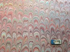 "marbled paper   Scrapbooking marblingArt paper Binding  handmade paper marble paper store   19.5"" x 27""  -  520   hand-m"