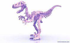 Speedy Velociraptor (plasma) - Dinosaurs (Plasma)   MakeCNC.com