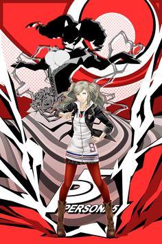 Ann Takamaki and Carmen, Persona 5