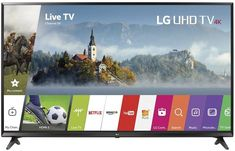 Experience optimal viewing and versatility from an LG Electronics Smart TV. Featuring resolution and energy-efficient LED backlighting, it gives you a wonderfully clear picture and vivid color to make Tv Samsung 4k, Smart Tv Samsung, Netflix, Quad, Wi Fi, Lg 4k, 65 Inch Tvs, Led Televisions, Camera Gear