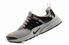 Nike Air Presto 2011 Mens Gray Black Shoes