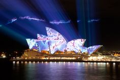 Sydney opera House - http://www.magisticcruises.com.au/sydney-harbour-cruises/vivid-sydney.php