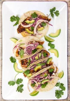 Blackened Fish Tacos. Make this delicious healthy dinner in 30 minutes!