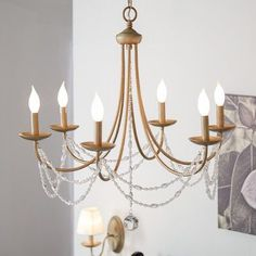 Three Posts Atwood 6 Light Chandelier