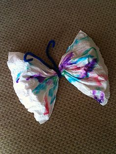 Easy and cute --- done with paper towel!!