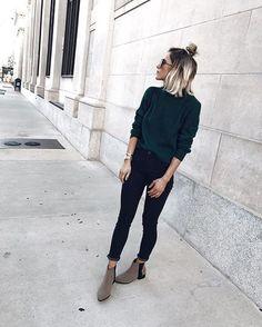 17 Outfits para la escuela con skinny jeans negros