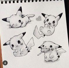"⚡️ By Taji Joseph _ Use to get featured… ""Super Cute Pikachu!⚡️ By Taji Joseph _ Use to get featured! Cool Art Drawings, Kawaii Drawings, Disney Drawings, Cartoon Drawings, Animal Drawings, Art Drawings Sketches, Drawing Ideas, Pikachu Tattoo, Pikachu Art"