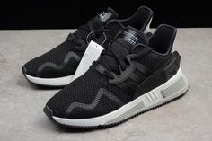 b8e90fb1563a 2018 UK FR Trainers Adidas Originals EQT Cushion ADV EQT Black White