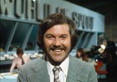 Brian Moore and Dickie Davies - recession-beating brilliance when ITV sport gave… 1970s Childhood, My Childhood Memories, Family Memories, Brian Moore, Uk Tv, This Is Your Life, Vintage Tv, World Of Sports, Teenage Years