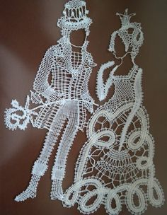 Lace Art, Magazine Crafts, Bobbin Lace, Lace Design, String Art, Tatting, Crochet Necklace, Projects To Try, Embroidery