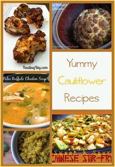 yummy cauliflower recipes - recipes using cauliflower