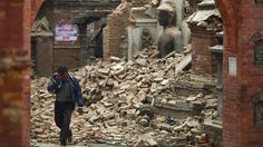 BIRTH PANGS - 6.7 magnitude aftershock earthquake strikes Nepal