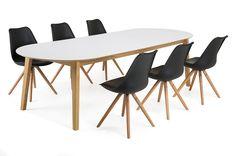 Köp FRIDA Matbord ovalt -  på Trademax.se! ✔ 300.000 nöjda kunder ✔ Alltid fri frakt & fria returer ✔ Vinterkampanj - Välkommen till Trademax.se!