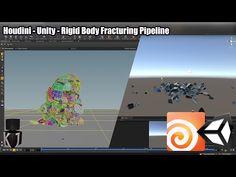Houdini – Unity – Rigid Body Fracturing Pipeline – KJ Interactive