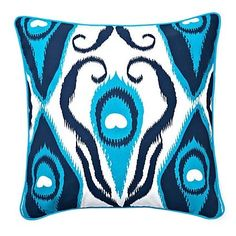I pinned this Ikat Pillow from the Room Service event at Joss and Main!
